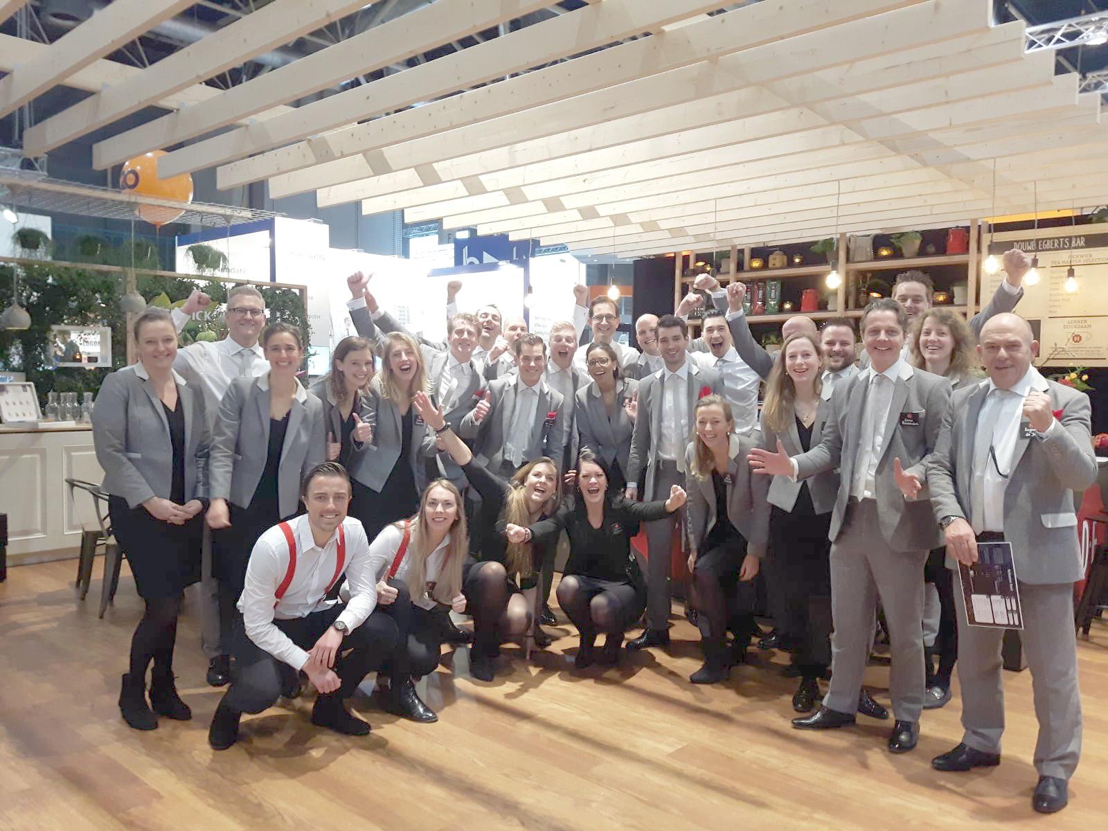 Team Douwe Egberts in ReBlend kleding